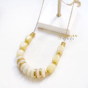Madewell Acetate Beads Statement Necklace